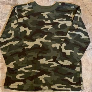 Camouflage T-shirt - 4T